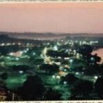 O parque à noite