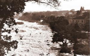 Figura 06: Empresa Hidráulica ao lado do salto de Piracicaba. Arquivo Câmara Municipal de Piracicaba