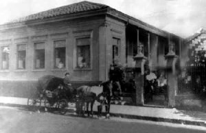 A casa do dr.Alfredo Cardoso