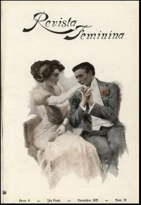 Capa da Revista Feminina de 1915