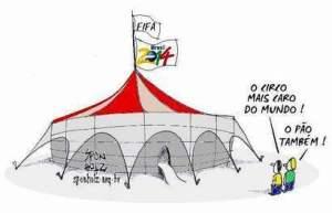 Pão e circo Copa 2014
