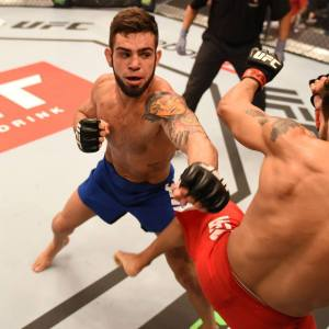 Bruno Bulldog no TUF 4 (crédito divulgação UFC)