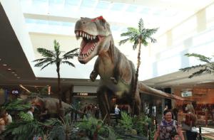 Tiranossaurus Rex será uma das espécies que estará em exposição no Shopping Piracicaba