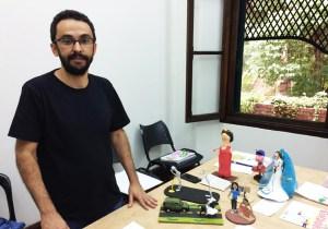 Daniel Ponciano ministrara oficina sobre proceso de      producao FOTO JUNIOR KADESHI