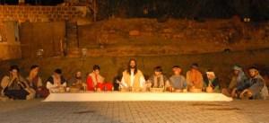 27ª Paixão de Cristo de Piracicaba - Santa Ceia [crédito Marcelo Basso - Engenho da Notícia Assessoria de Imprensa]
