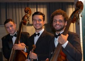 Rafael Figueredo, Matheus Baião e Gustavo Quintino - foto Rodrigo Alves
