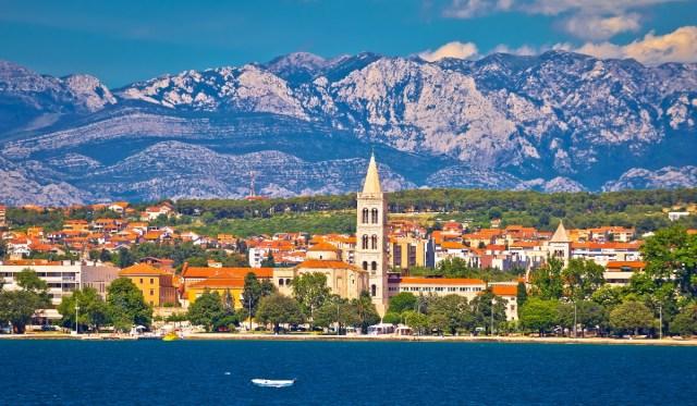 Zadar, a cidade croata com monumentos originais e um famoso pôr do sol