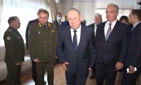 اللواء شنقريحة يستقبل من طرف نائب وزير الدفاع الروسي