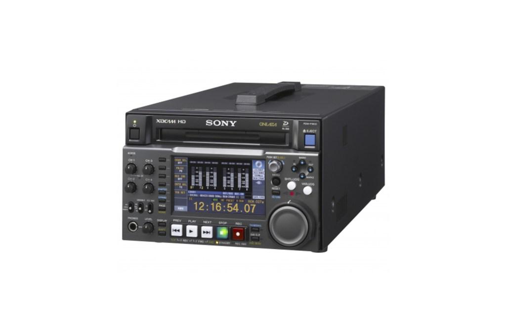 Attrezzature per produzioni video a verona - Registratore XDCAM PDW F1600 Sony