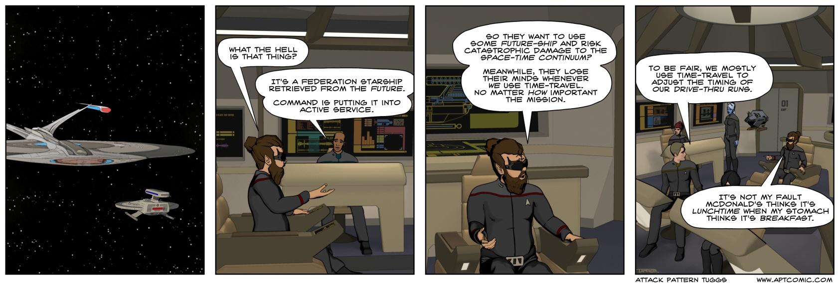 STO – Temporal Dreadnought