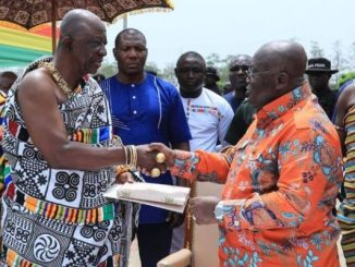 Prez and chiefs ahafo region
