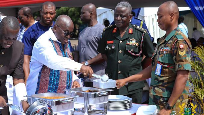 Akufo-Addo armed forces