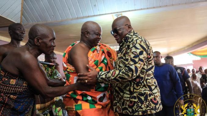 Nana Addo visits Western North