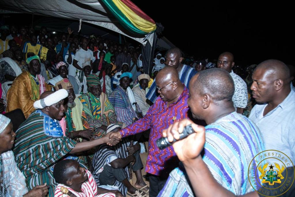 Time to bring conflict, violence in Chereponi to an end Nana Akufo-Addo