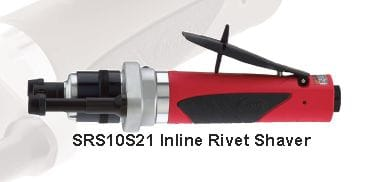 SRS10S21-8 Sioux Rivet Shaver Straight In-Line
