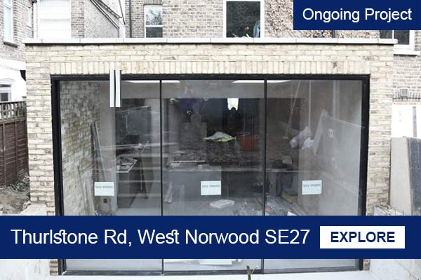 Spacious house extension in West norwood
