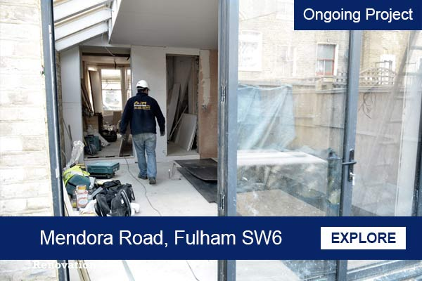 ongoing house extension putney