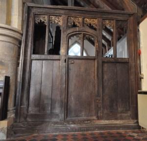 15th Century Oak Screen