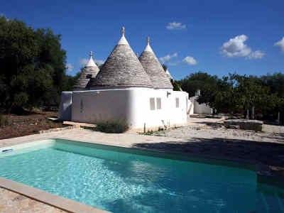 Trullo mit Pool in Apulien Ostuni
