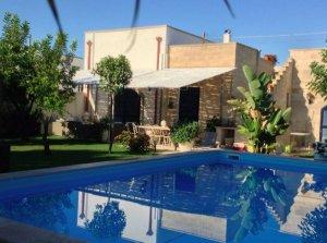 mediterrane villa mit pool im salento