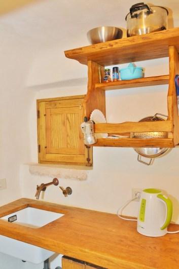 Große Küche Trullo Specchia