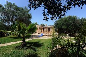 Blick auf Villa Serenella