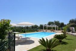 Garten Ferienhaus Apulien
