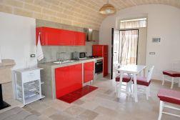 Küche Apulien Fewo