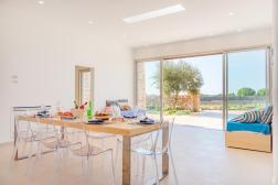 Wohn-Essbereich Villa Cosano Italien