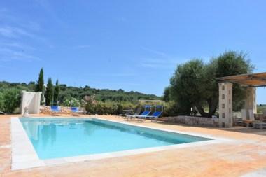 Pool Ferienhaus Cisternino Domus Badessa