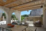 Veranda Pool Haus Apulien