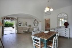 Ferien Villa Apulien Wohnbereich