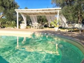 Swimming Pool Ferienhaus Apulien