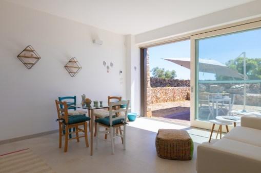 Küche Paralupi Ferien Apulien