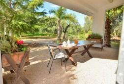 Terrasse Apulien Ferienhaus