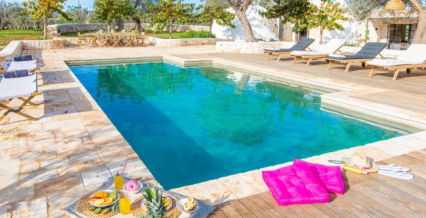Ferienunterkünfte mit Pool