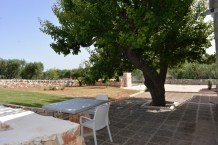 Garten Apulien Ferienhaus Ostuni