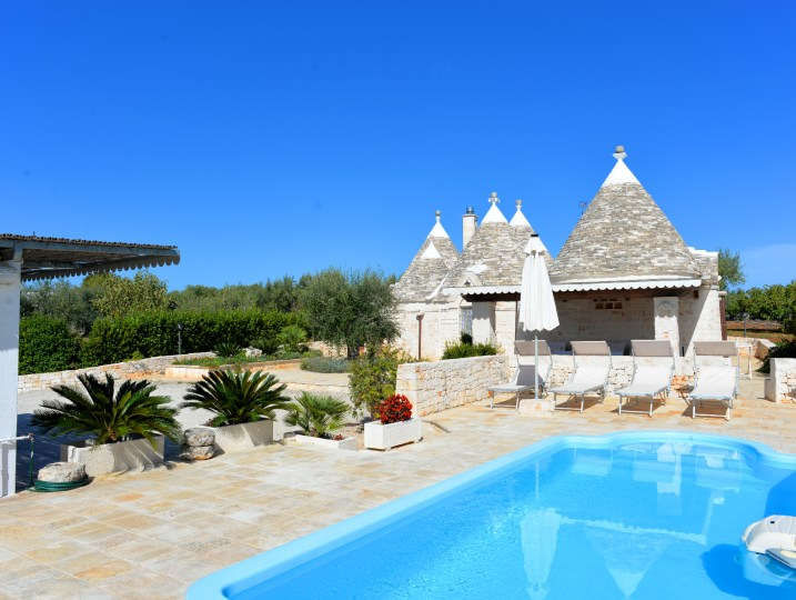 Trullo Leo in Apulien