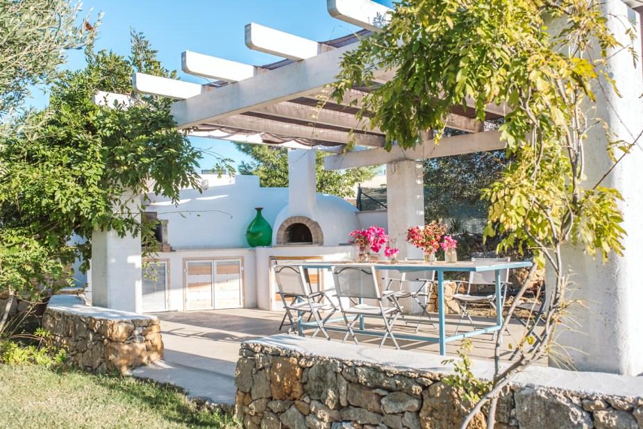 Terrasse Trullo Apulien