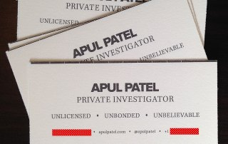 Apul Patel Detective Agency