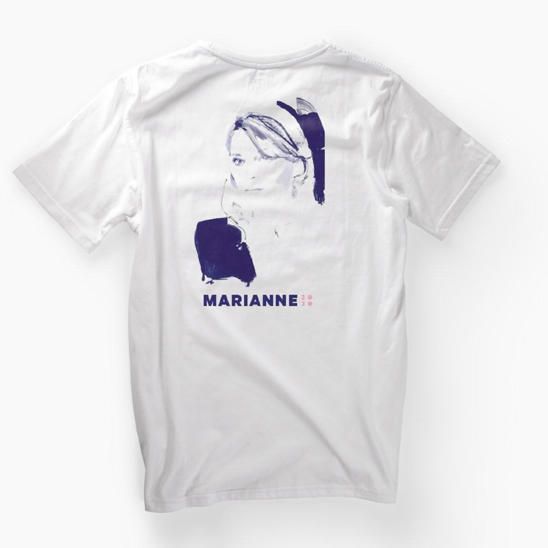 Marianne Williamson T-Shirt by David Downton (marianne2020.com)