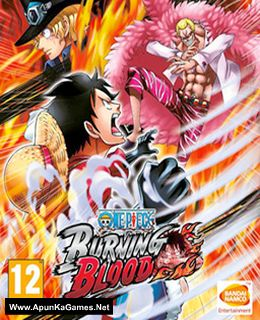 One Piece: Burning Blood Cover, Poster, Full Version, PC Game, Download Free