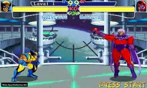 X-Men: Children of the Atom Screenshot 3, Full Version, PC Game, Download Free