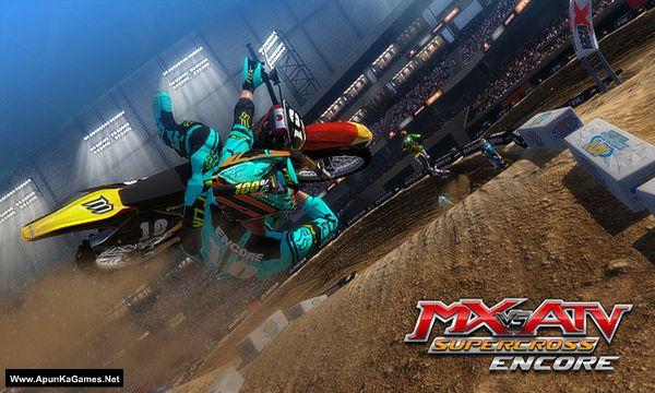 MX vs. ATV Supercross Encore Screenshot 1, Full Version, PC Game, Download Free