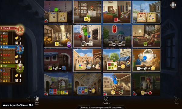 Istanbul: Digital Edition Screenshot 1, Full Version, PC Game, Download Free