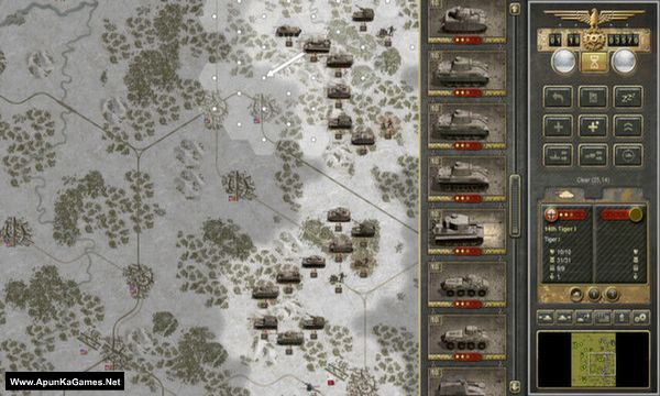 Panzer Corps: U.S. Corps Screenshot 2, Full Version, PC Game, Download Free