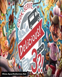 Cook, Serve, Delicious! 3?! Cover, Poster, Full Version, PC Game, Download Free