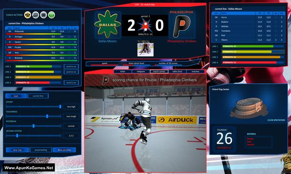 Hockey Manager 20|20 Screenshot 1, Full Version, PC Game, Download Free