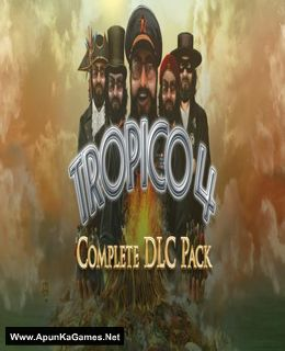 Tropico 4 + Complete DLC Cover, Poster, Full Version, PC Game, Download Free