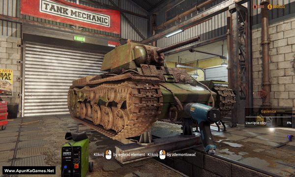 Tank Mechanic Simulator Screenshot 1, Full Version, PC Game, Download Free